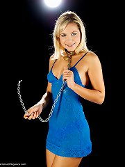 Beautiful model Jenni C loving her chains